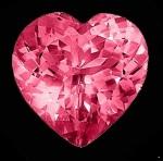 Coração diamante