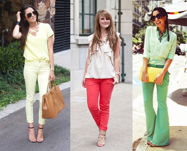 04_CASUAL DAY _Look para viajar depois do trabalho_calça colorida