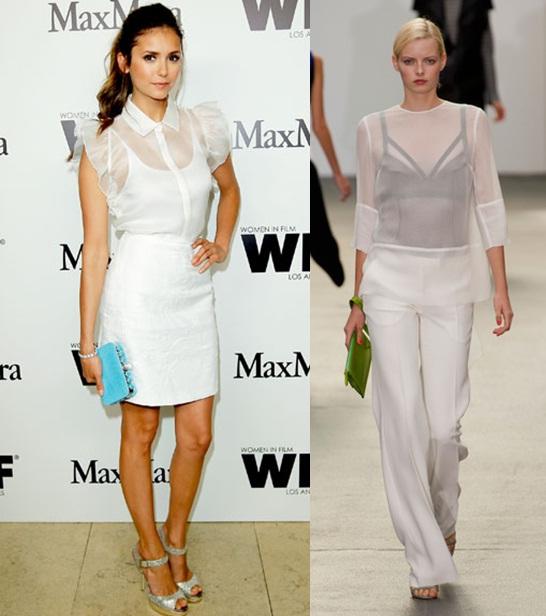 02_Look todo branco_camisa transparente com saia branca_camisa branca transparante com regata preta e calça branca