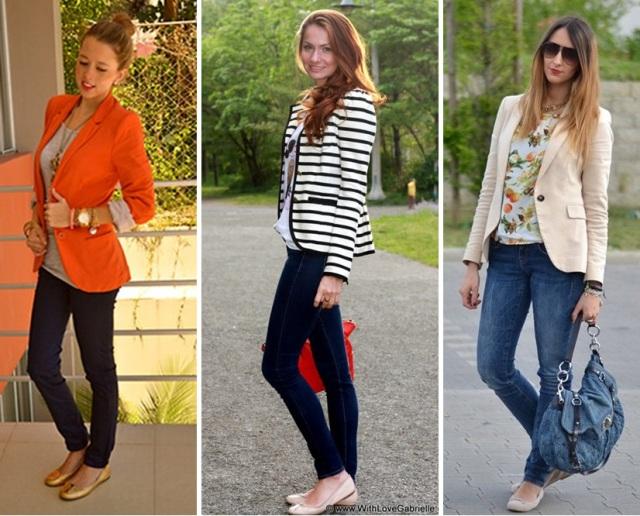 03_CASUAL DAY _calça skinny jeans e blazer_calça skinny jeans e sapatilha