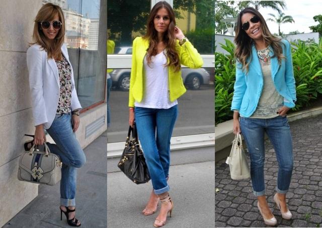04_Look para casual day_Calça jeans com a barra dobrada_look de jeans feminino_look com calça jeans