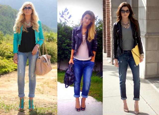05_Look para casual day_Calça jeans com a barra dobrada_look de jeans feminino_look com calça jeans