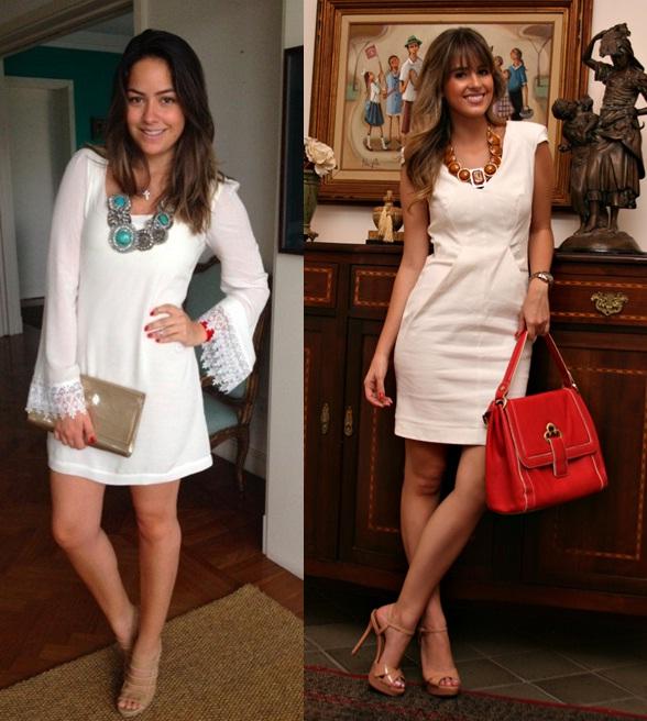 05_Look todo branco_vestido branco com maxi colar azul_vestido branco com maxi colar caramelo