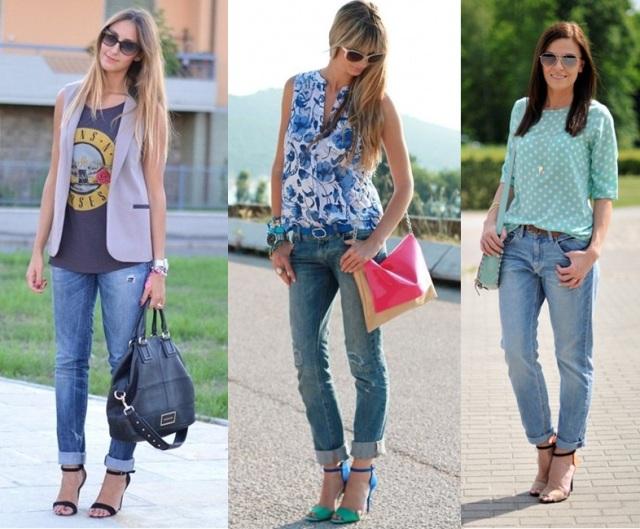07_Look para casual day_Calça jeans com a barra dobrada_look de jeans feminino_look com calça jeans