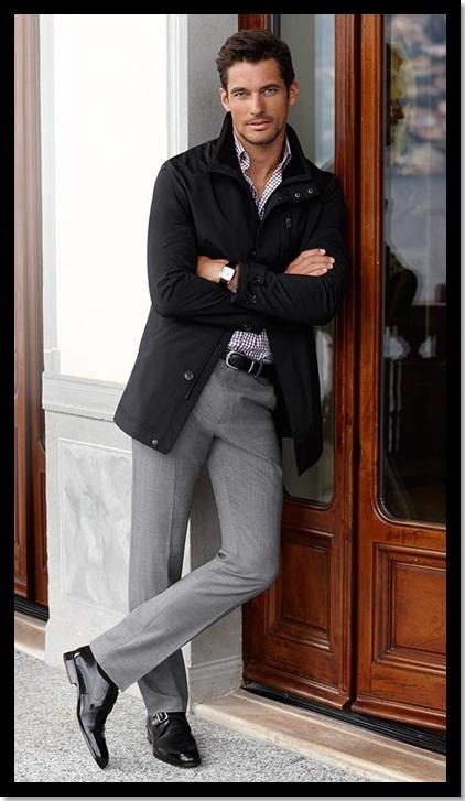 29.01.2013.Moda Masculina_Look para trabalhar_Look de Inspiração_calça cinza social_sapato preto_jaqueta preta_jaqueta com calça social