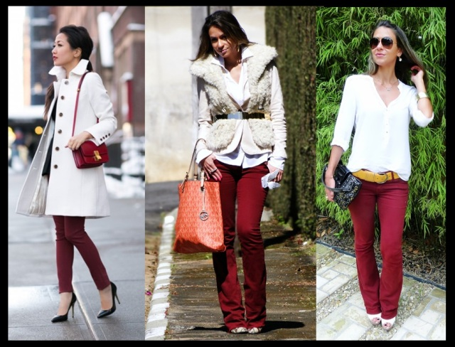 01_Burgundy_A cor tendencia do Inverno 2013_looks Burgundy com branco