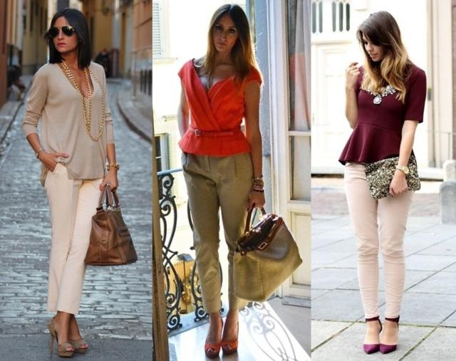02_Look calça clara_look para trabalhar