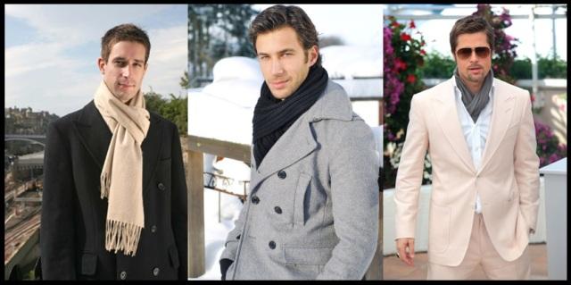 01_Cachecol para homem_Homem de cachecol_scarf Men_moda masculina