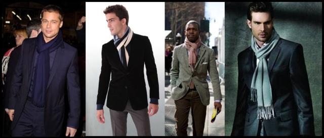 04_Cachecol para homem_Homem de cachecol_scarf Men_moda masculina_look para trabalhar_cachecol e blazer