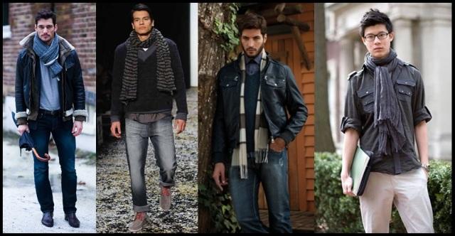 07_Cachecol para homem_Homem de cachecol_scarf Men_moda masculina_look despojado