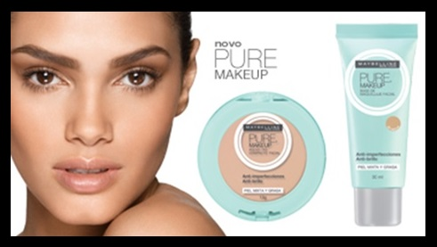 Linha Pure Makeup_Maybelline