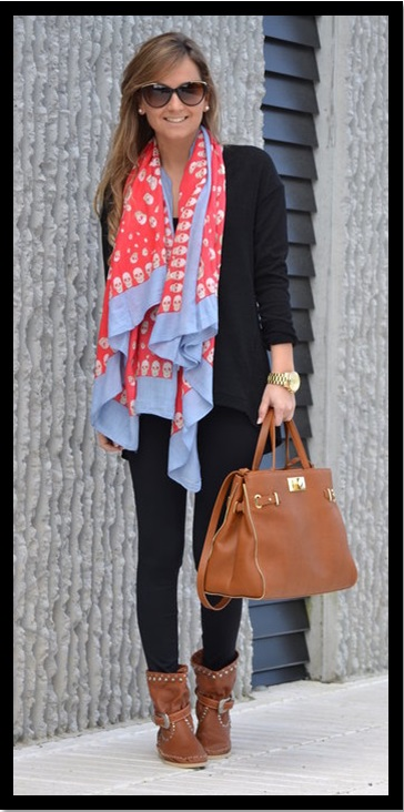 Look do dia_casual day_ legging para trabalhar_look com legging e bota
