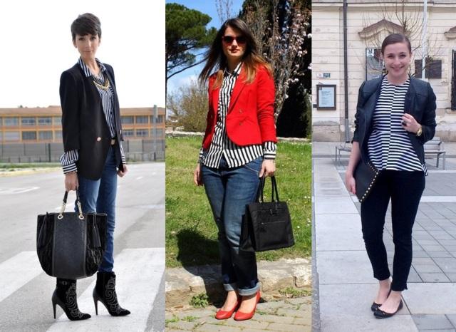 02_Look do dia_casual day_listras_blazer vermelho_sapatilha_look para trabalhar