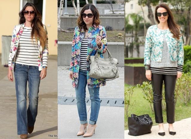 04_Look do dia_casual day_listras e jeans_look para trabalhar_listras e floral