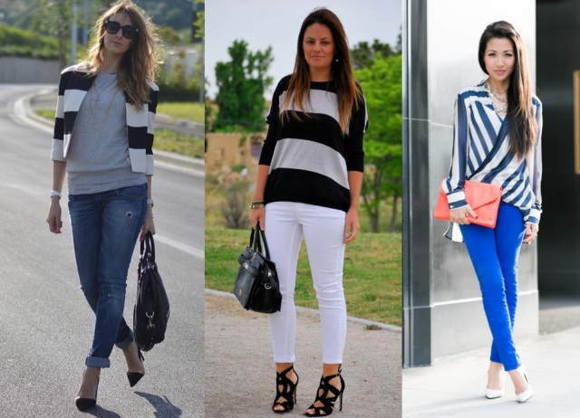 06_Look do dia_casual day_listras largas_look para trabalhar