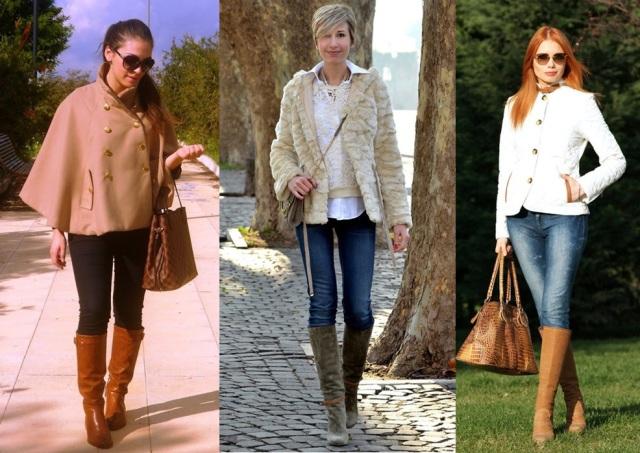 06_Look para o casual day_jeans e bota de cano alto_look para trabalhar_como usar bota com calça jeans_look inverno para trabalhar