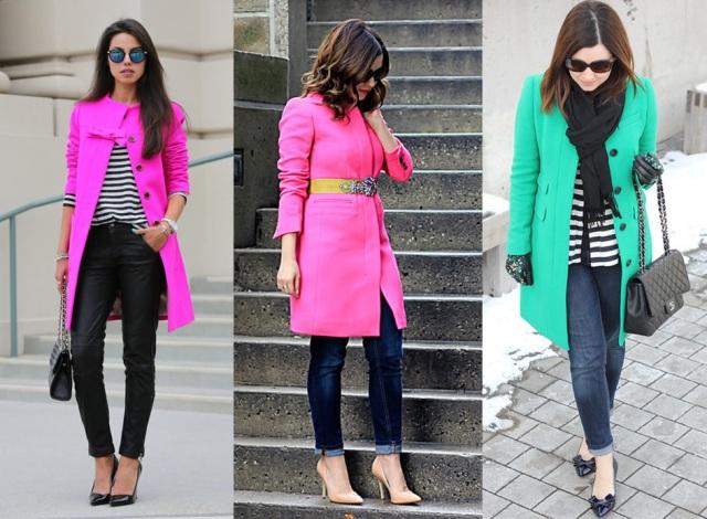 08_ Look de inverno_look para trabalhar_como usar casacos coloridos_ casaco rosa_casaco verde_ pink_green_coat