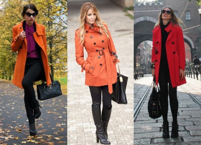 09_ Look de inverno_look para trabalhar_como usar casacos_ casaco laranja_casaco vermelho_ red_orange_coat