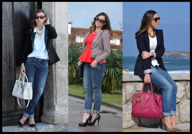 Looks do casual day_jeans com blazer_look para o trabalho_