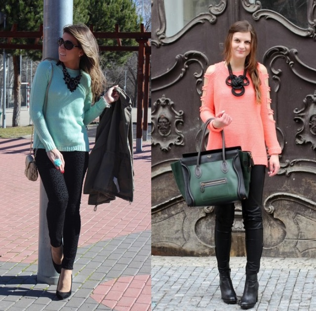 03_Looks de trabalho_Looks de inverno_como usar cores pastel no inverno_blusa colorida
