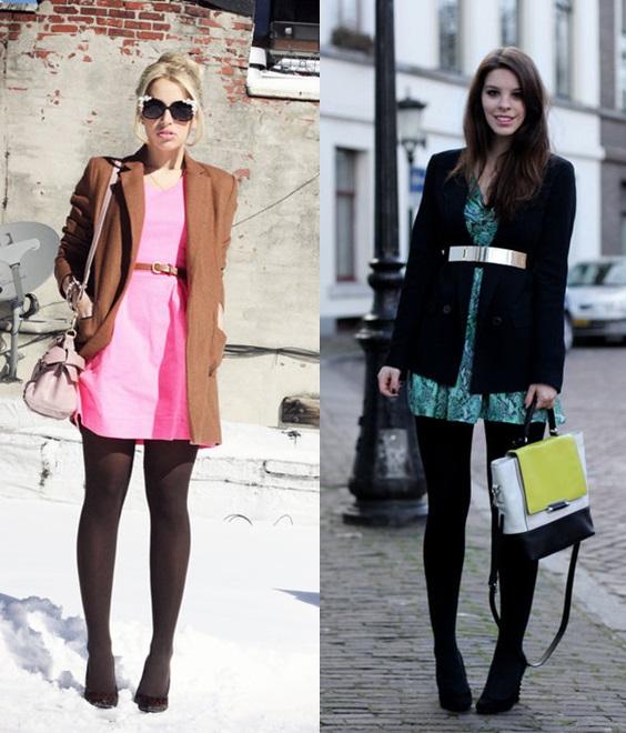 04_Looks de trabalho_Looks de inverno_como usar cores vivas no inverno_vestido colorido