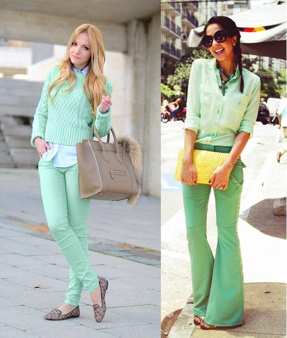03_Look para o trabalho_inspiração_looks monocromáticos_look todo verde