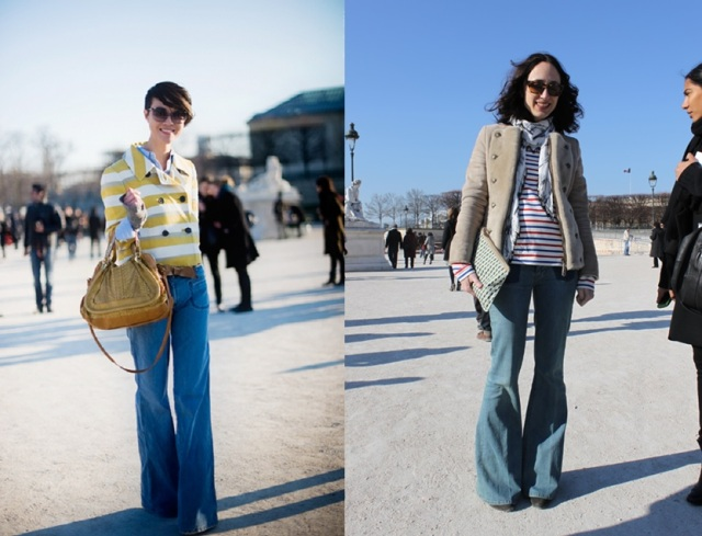 fashion week_fall 2013_flare denim_militar coat_stripe_calça jeans flare_listra_casaco militar