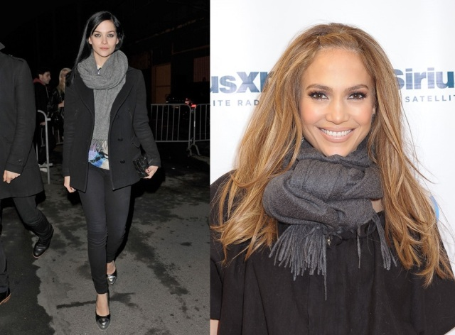 Leigh Lezark_Jennifer Lopez_cachecol_inverno_wool scarf