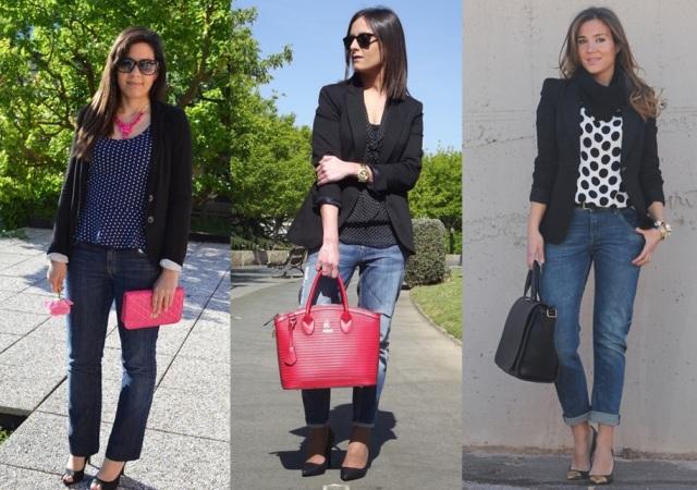 00_Casual Day_ jeans e blazer_look para o trabalho_look de sexta feira