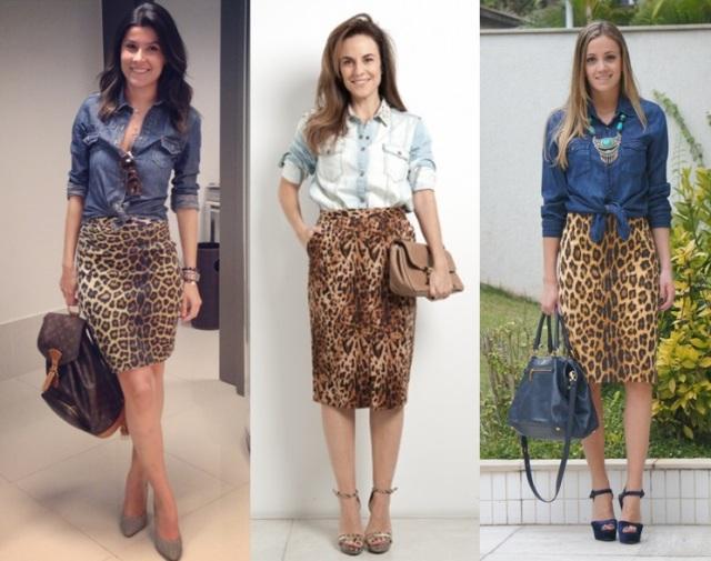 04_Look Camisa jeans_expediente da moda_camisa jeans com saia de oncinha