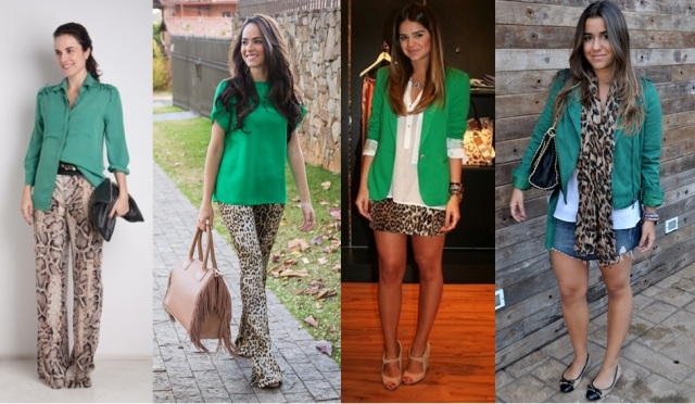 01_dica de moda_como usar animal print_estampa de animal_verde_look do dia_expediente da moda