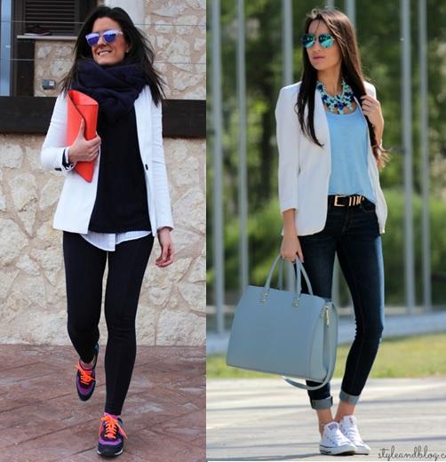 02_inspiração de look do dia_look de domingo_blazer e tenis