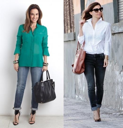 04_inspiração de look do dia_look de domingo_camisa social e calça com barra dobrada