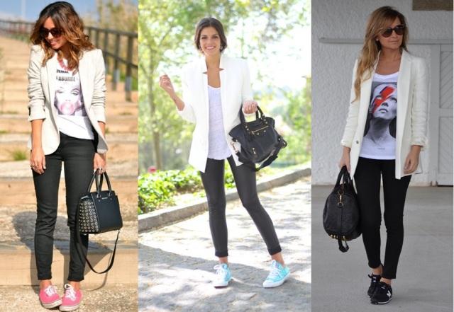 04_Look com tenis_look estiloso com tenis_look casual com tenis_tenis no trabalho_look com blazer e tenis
