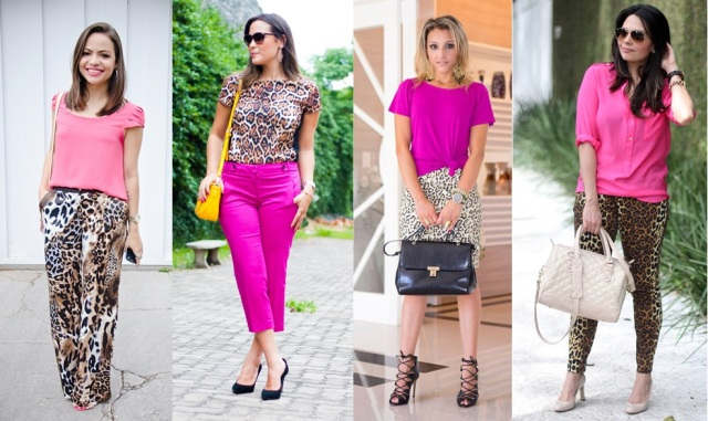 06_dica de moda_como usar animal print_estampa de animal_look do dia_expediente da moda_look animal print com rosa