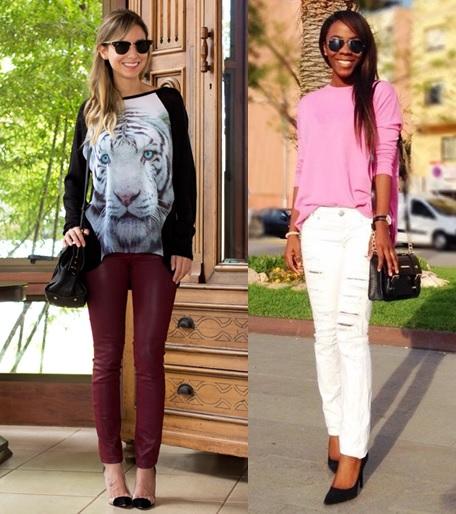 06_inspiração de look do dia_look de domingo_blusa de malha e salto alto