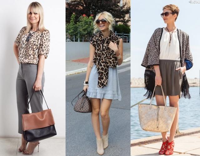 10_dica de moda_como usar animal print_estampa de animal_look do dia_expediente da moda_look animal print com cinza