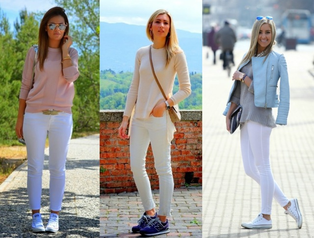 10_Look com tenis_look estiloso com tenis_look casual com tenis_tenis no trabalho_look com tenis e calça branca