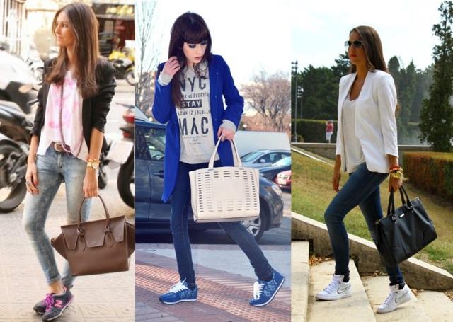 12_Look com tenis_look estiloso com tenis_look casual com tenis_tenis no trabalho_look com tenis e calça skynni jeans