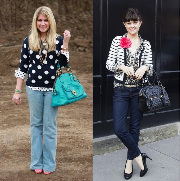 7_Look de Inverno_look de inverno para o trabalho_mix de estampa_blusa de lã com camisa estampada_casual day_calça jeans