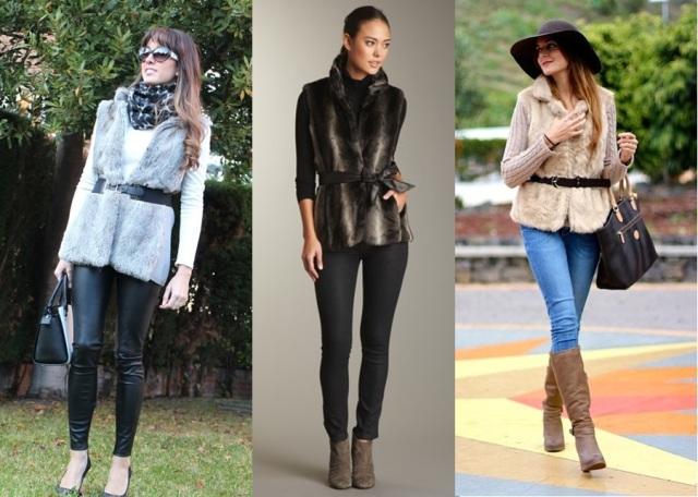 03_Colete de pelucia_looks para o trabalho_fur vest_colete de pelo fake_colete de pelucia_como usar_colete de pelucia com cinto