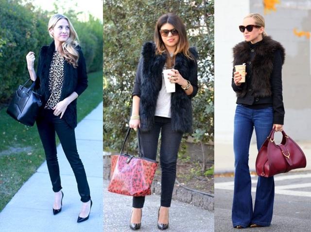 06_Colete de pelucia_looks para o trabalho_fur vest_colete de pelo fake_colete de pelucia_como usar_colete de pelucia com jaquetas ou blazer
