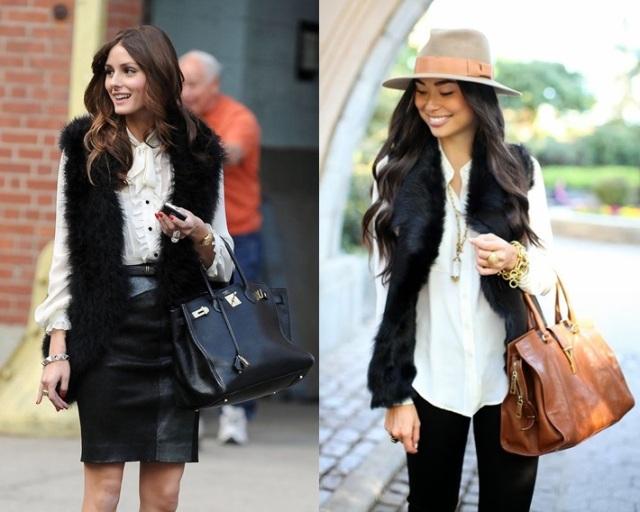 0_Colete de pelucia_looks para o trabalho_fur vest_colete de pelo fake_colete de pelucia_como usar