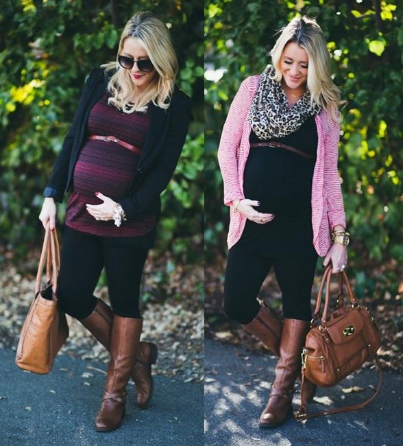 11_moda gestante_look para grávidas_look de inverno para gravidas_looks de trabalho para gestantes_moda para trabalhar_dicas de moda para grávidas_gravidas de legging_gravida chique