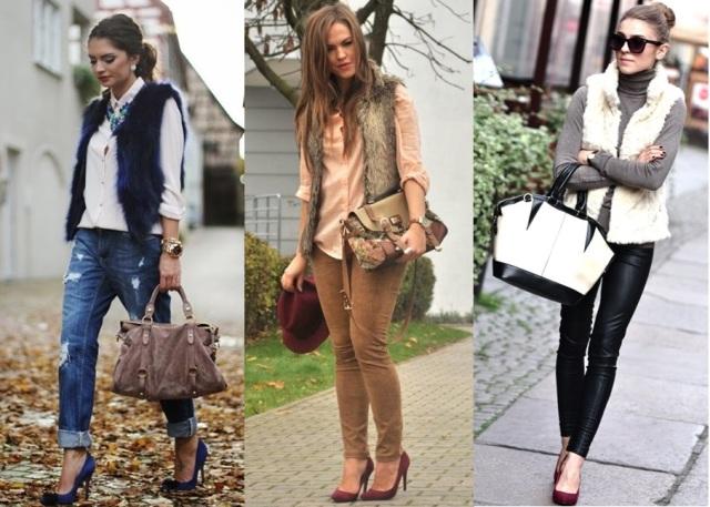 14_Colete de pelucia_looks para o trabalho_fur vest_colete de pelo fake_colete de pelucia_como usar