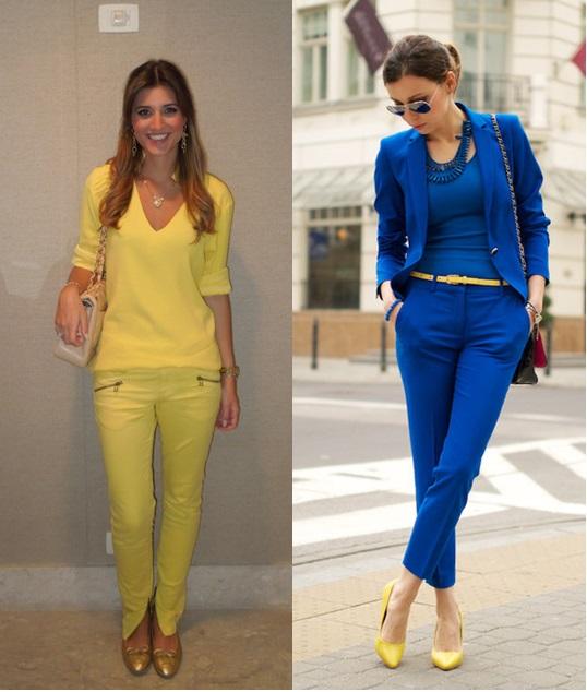 2_look para copa_o que vestir para trabalhar em dia de jogo do brasil_looks para trabalhar na copa_looks azul verde amarelo_word cup 2014
