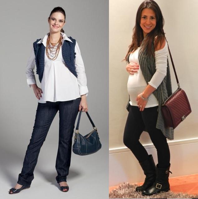 9_moda gestante_look para grávidas_look de inverno para gravidas_looks de trabalho para gestantes_moda para trabalhar_dicas de moda para grávidas_gravidas de colete_gravida chique