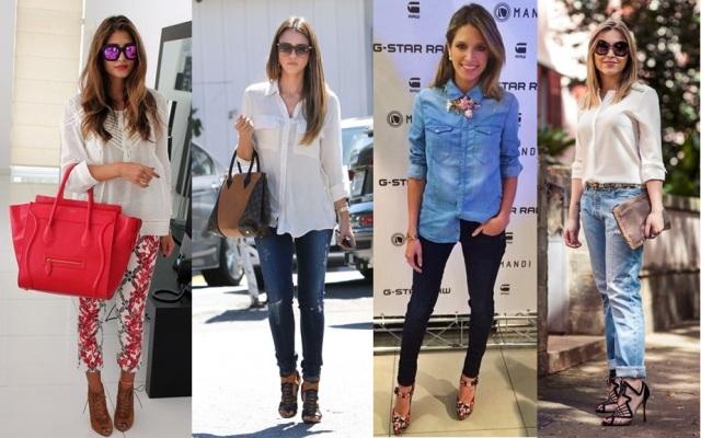 02_Looks para o casual Day_looks para quarta feira de cinzas_looks com camisas e batas soltinhas
