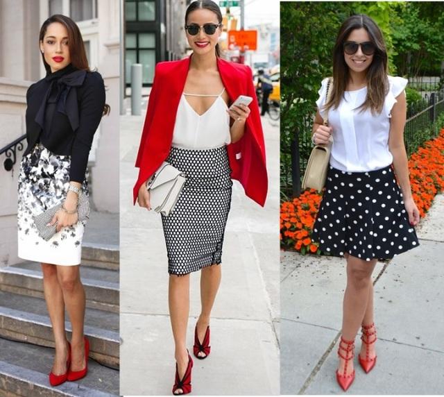 06_Look com sapato vermelho_como usar sapato vermelho_look do dia