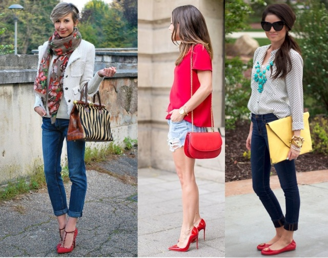 08_Look com sapato vermelho_como usar sapato vermelho_look do dia